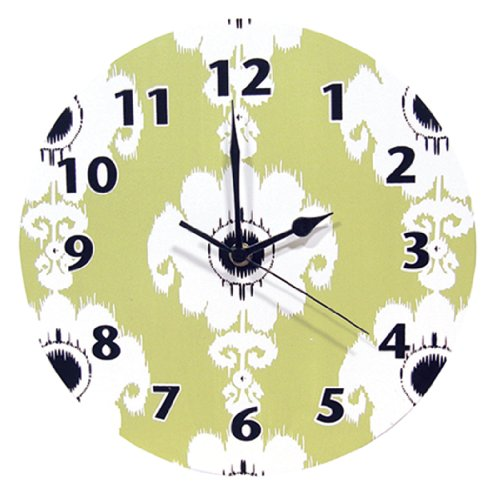 trend-lab-waverly-rise-and-shine-wall-clock-green-green