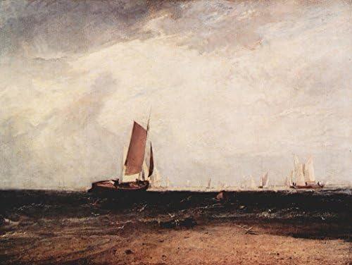 Lais Lais Lais Puzzle Joseph Mallord William Turner - Pêche à Blythe-Sable, la marée s'installe 500 Pieces B07DLD4LBB 375dba