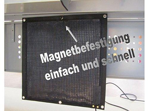 Infrarot Schreibtischheizung Untertischheizung für Arbeitsplatz & Privatbereich Gewicht nur 750gr / 120Watt