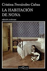 La habitación de Nona par Cristina Fernández Cubas