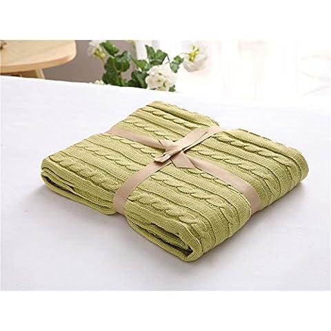 MQZM-In maglia di cotone coperta coperte di