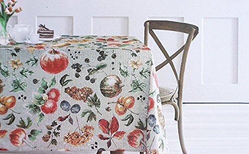 EnVogue Herbst Ernte Obst Tischdecke, 60-by-84Zoll länglich rechteckig