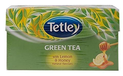 Tetley Green Tea (Lemon & Honey) - 30 Tea Bags by Tetley