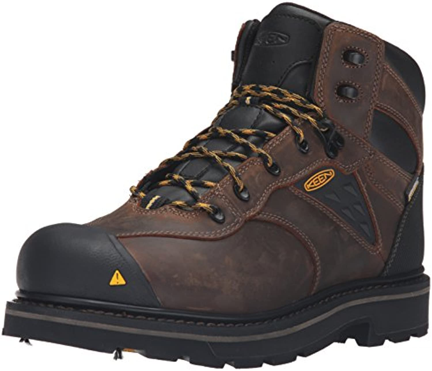 Keen Utility Men's Tacoma WP Work Boot  Cascade Brown/Tawny Olive  14 W US