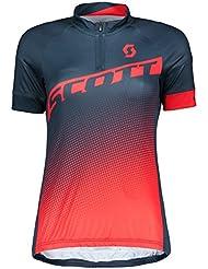 Scott Endurance 40 Damen Fahrrad Trikot kurz blau/rot 2018