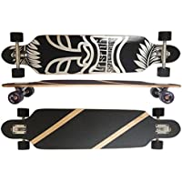 Deluxe Longboard Maxofit Mystic No.16, 106 Cm 9 Strati Di Acero Canadese, Drop Through - Azione Longboard Skateboard