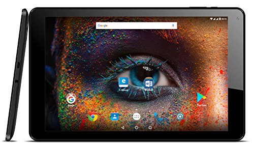 Odys X610195 25,65 cm (10,1 Zoll) Falcon 10 Plus 3G, Office Edition Tablet-PC (AMD Athlon MTK8321, 16GB Festplatte, 1GB RAM, Mali 720 MP2, Android 7.0) Schwarz
