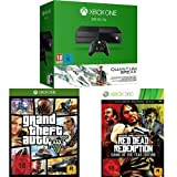 Xbox One 500GB Konsole inkl. Quantum Break und Alan Wake + Grand Theft Auto V + Red Dead Redemption - Game of the Year Edition