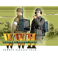German Signals Team WWII Eastern Front Anton & Vaprossov Figures are New