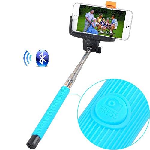 Remote Camera selfie Stick (Blu) Rivero senza