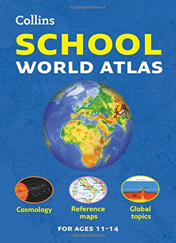 Collins School World Atlas (Collins School Atlas) (Collins Primary Atlas)