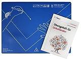 Produkt-Bild: Schreibtisch-Auflage für Linkshänder DESK-PAD LEFTY®, mit Übungsheft: Desk-Pad Lefty, mit einem Übungsheft für Linkshänder (Alle Klassenstufen) (Linkshändigkeit)