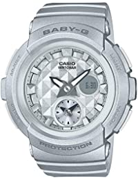 Casio Baby-g Analog-Digital Grey Dial Women's Watch - BGA-195-8ADR (BX077)