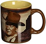 vándor 12Oz Tasse aus Keramik John WayneA Mans Got to Do 12-ounce braun