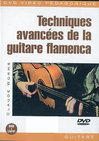 Worms Claude Techniques Avancees De La Guitare Flamenca Gtr Dvd French