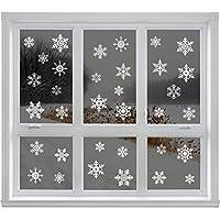 Articlings 42 Original Snowflake Window Clings Fabulous Static PVC Stickers