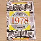 Geburtstagskarte 1978 mit Video-CD Jahreschronik