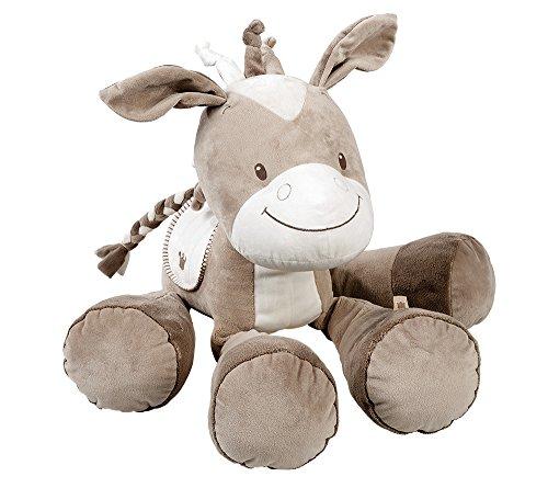 Nattou Peluche pour Bébé Fille et Garçon 28 cm, beige - Noa le cheval