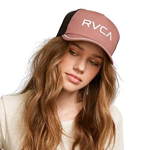 RVCA Damen Title Trucker HAT Baseball Cap, Muskat, Einheitsgröße - Rvca Baseball