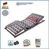 Ravensberger Matratzen Lattenrost Variflex | Stabiler 5-Zonen-Systemtellerrahmen | Elektrisch | 90x200 cm