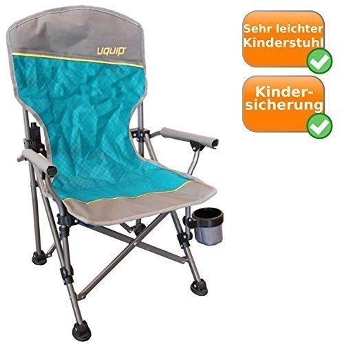 pliable - chaises de camping inclusive Porte-boissons,Protection contre le pincement,60 Kg Capacité de charge,largeur Pieds pour sécuritaire Stand,aussi sur doux Sol,léger 2Kg Poids net,bleu-argent