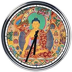 Reloj de pared Buda 3