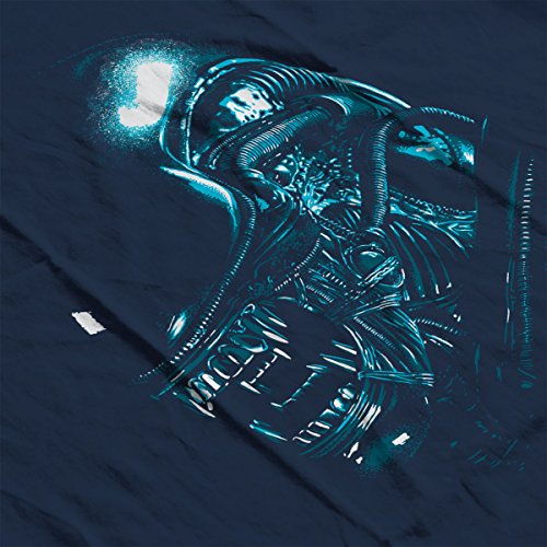 Aliens Alien Attack Women's Hooded Sweatshirt Navy blue