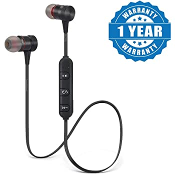 Captcha Sports Bluetooth Magnet Earphone HandsFree with Microphone for All Android/iOS Devices