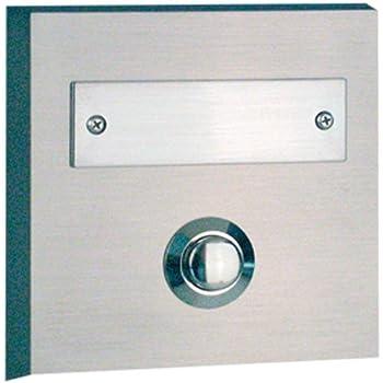 rev ritter 0504363555 klingelplatte 1 f auf putz echtmetall baumarkt. Black Bedroom Furniture Sets. Home Design Ideas