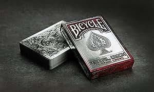 Jeu 54 cartes Format Poker - Jeu Bicycle Metal