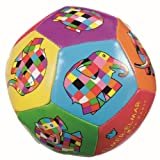 Enlarge toy image: Elmer the Elephant - Soft Ball 10 cm - infant and baby development