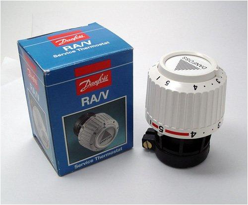 Danfoss Servicefühler Typ RA/V Hals-Innendurchmesser 34 mm, weiß -