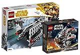 Star Wars LEGO Imperial Patrol Battle Pack 75207 Spielzeug + LEGO 75193 - Millennium Falcon Microfighter, Spielzeug