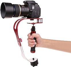 Crewell Stabilisator Visuelle gehalten in die Hand Stabilizer für Das DSLR DV SLR Digitalkamera Camcorder