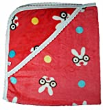 Tinny Tots Baby Wrapping Blanket (Red)