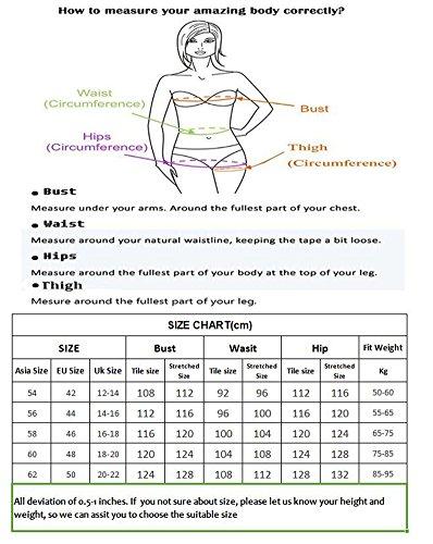 Figurformender V Ausschnitt Badeanzug mit Röckchen einteiliger Damen Schwimmanzug Bauchweg Bademode Größe Größen Badekleid Türkis