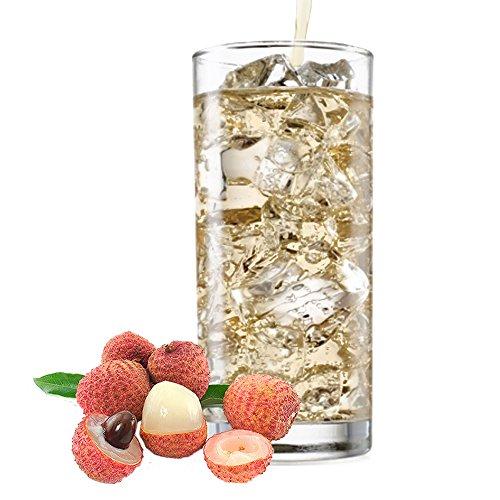 Litschi Geschmack extrem ergiebiges Getränkepulver für Isotonisches Sportgetränk Energy-Drink ISO-Drink Elektrolytgetränk Wellnessdrink