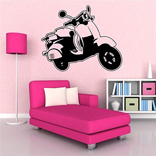 Grand Mur Autocollant Art Vinyle mat Mod Mods Scooter