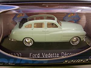 Solido - 45100 - Ford Vedette Découvrable - 1:43