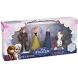Frozen Disney La reine des neiges, 4 figurines