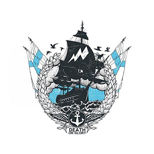 Apple iPhone 4 Housse Étui Silicone Coque Protection Bateau Faire du bateau à voile Navigation Étui en cuir bleu marine