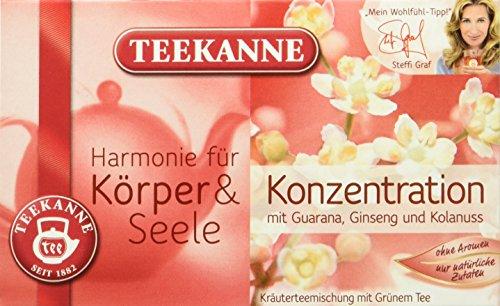Teekanne Harmonie für Körper und Seele Konzentration, 5er Pack (5 x 40 g)