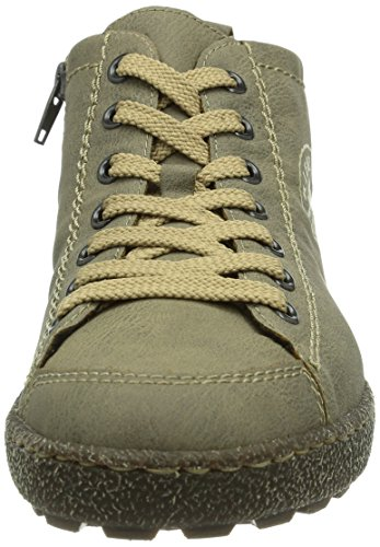 Rieker L7440-43, Baskets mode femme Gris (Steam/43)