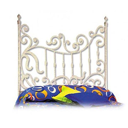 HOGARES CON ESTILO - Cabecero de Forja nacional modelo FORJA_J14 para una cama de 150 cms. (Varios colores y medidas disponibles).