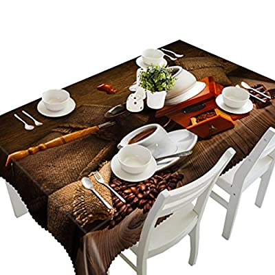 Bluester 3D Art Printing Dining Multi Functional Tablecloth for Party Picnic Table Cloth Tapestry Pad - inexpensive UK light shop.
