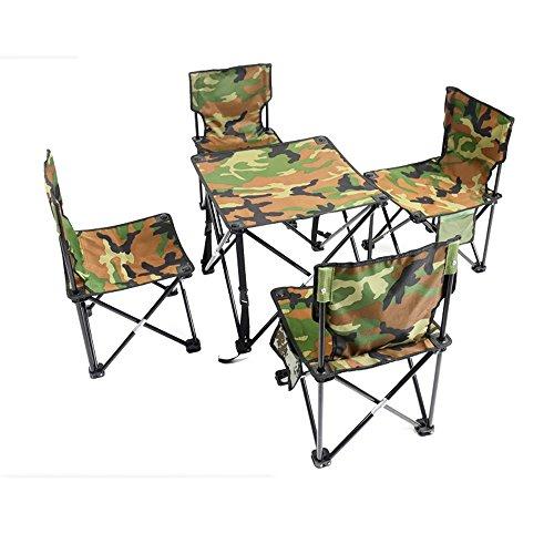 Mode praktisch Outdoor Klappstühle / Camping Portable Klapptische und Stühle / Set Freizeit Tische und Stühle / Strand Barbecue Klappstuhl / Angeln Stuhl (2 Farben optional) (Farbe wahlweise freigestellt) ( farbe : B ) (Klapptisch Portable)