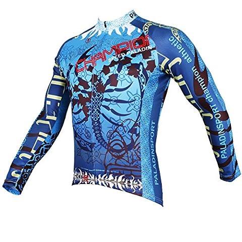manches longues cyclisme maillot de plein air de haute qualité des hommes - Le Roi Scorpion