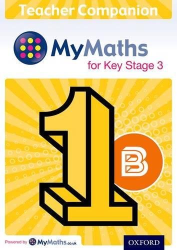 MyMaths for Key Stage 3: Teacher Companion 1B