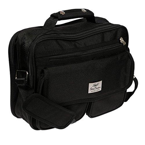 Borsa A Tracolla Xl Xxl Borsa Da Volo Flight Bag Modello L 2 Scomparti Pattina
