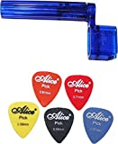 SG Musical - Guitar String Winder, 5 Pc. Guitar Pick Combo